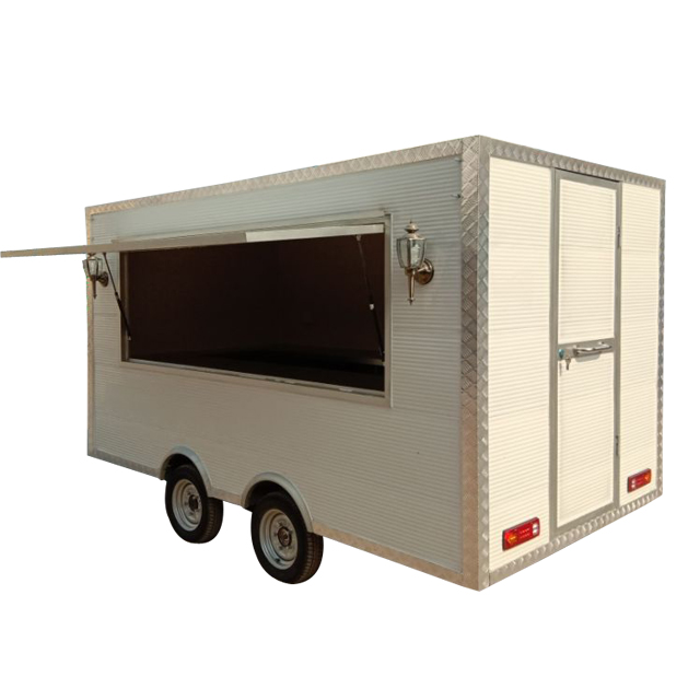 China Supplier food truck with ISO