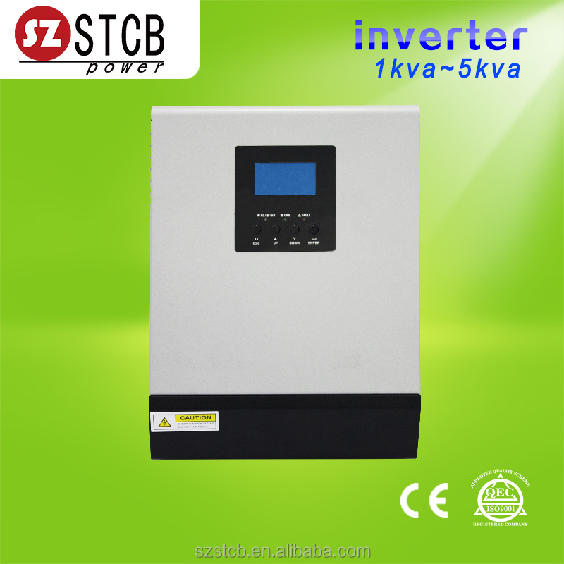 Used home solar inverter 1kva 24v dc 25A solar charger