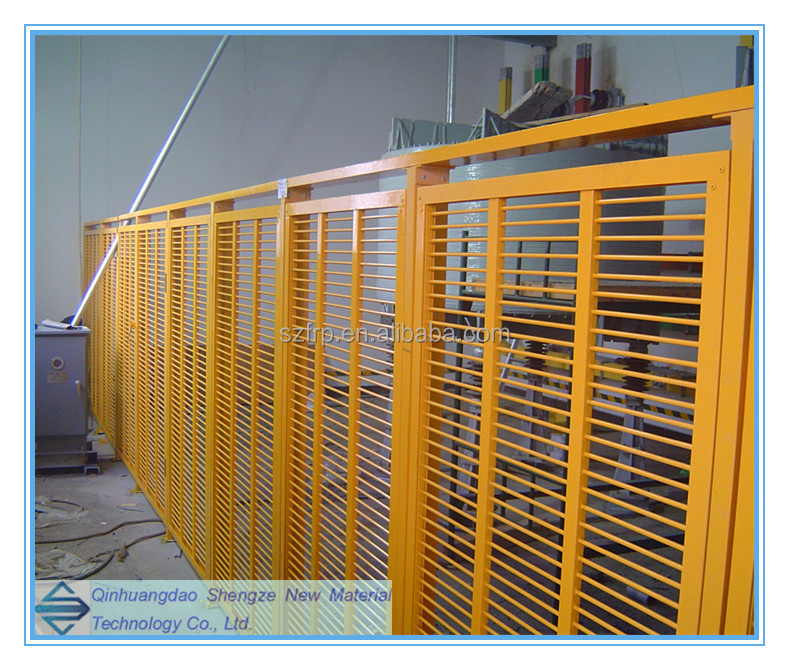 FRP fence,safety barrier fence,fiberglass enclosure