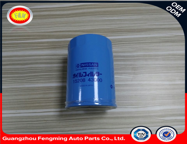 High Quality Made in China OEM15208-43G00 Oil Filter for Nissa n Cars