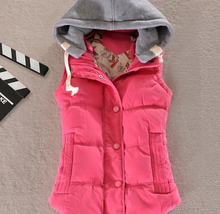 S12052A 2015 Lady's Hot Sale Vest Body Warmer Fashion High Quality Vest/Winter Vest/Women Vest