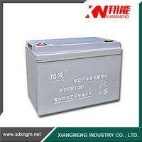 China long life rechargeable solar gel battery