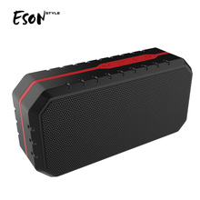 Eson Style IPX4 waterproof resistant portable mini bluetooth speaker rubber silicon wireless speakers BQB OEM