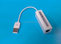New USB 2.0 to Fast Ethernet LAN Female RJ45 Network Adapter