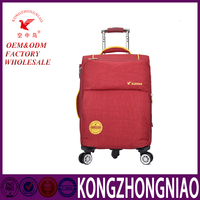 Good quality candy color trolley luggage suitcase & Big trave luggage for young people