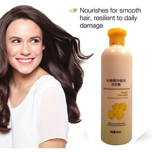Natural hair regrowth fast ginger hair shampoo and conditioner for hair loss care