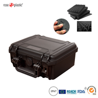 Handheld portable plastic safety protection packaging case box with IP67 waterproof RC-PS 180