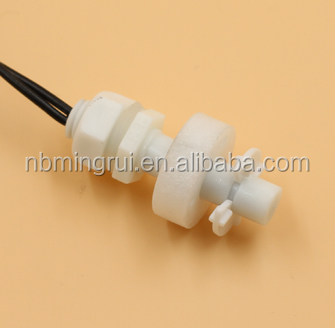 Electrical horizontal/vertical install plastic magnetic electronic water float switch MR0825-P