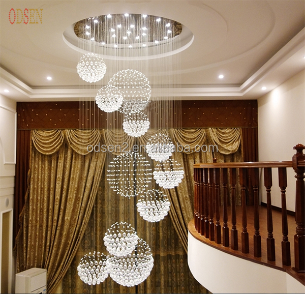 Home lighting decorative crystal hanging lamps ceiling lamps modern