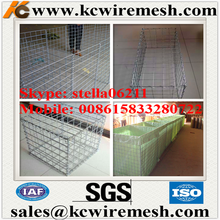 Factory!!!!!!!! Kangchen gabion planter baskets/stainless steel wire mesh basket welded wire mesh/gabion mesh cage