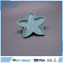 Sea Star Shaped Ceramic Decorative Plate