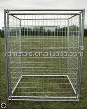 Outdoor galvanized welded wire mesh animals cages