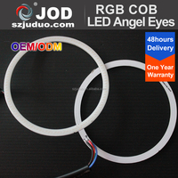 60mm 80mm 90mm 100mm 115mm 120mm 160mm Color Changing RGB Angel Eyes Ring