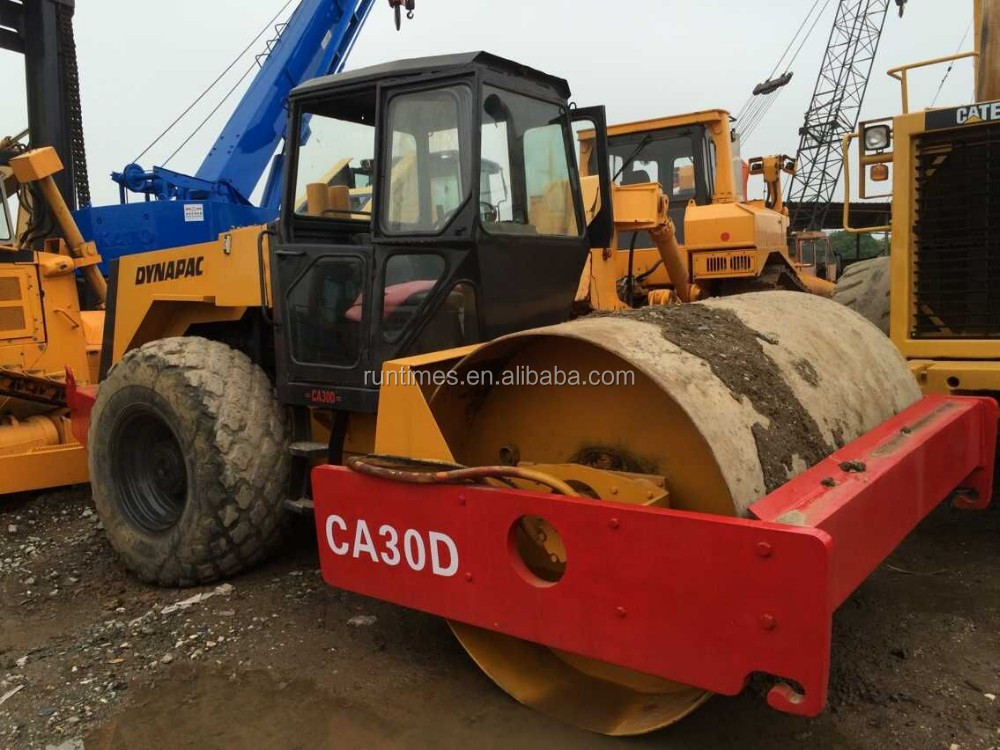 Used dynapac road roller CA30D, cheap roller CA30D for sale, good condition road roller