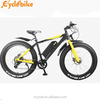 hot sell 48V 500w geared fat beach tire ebike with CE