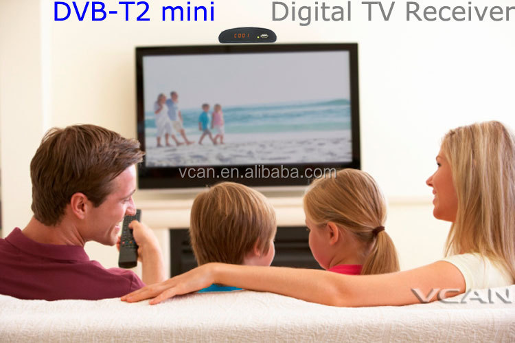 HD DVB-T2mini Home Digital set top box USB record Thailand