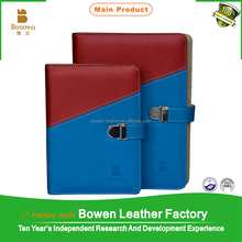 custom pu leather notebook, loose leaf pu leather otebook, pu leather organiser notebook