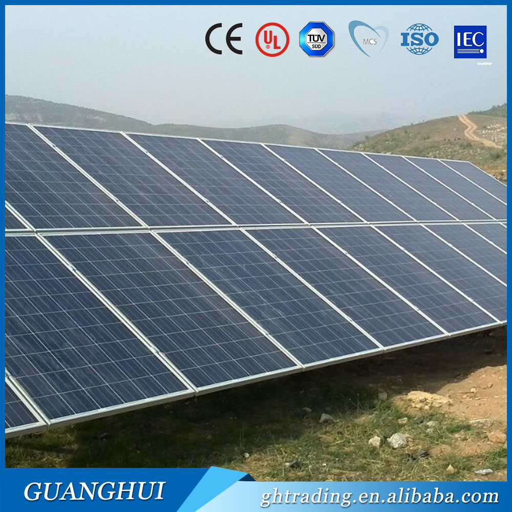 High quality polycrystalline solar panel 60wp 80wp 100pwp pv modules