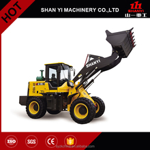 SHAN YI brand ZL922 small wheel loader with 2 tons
