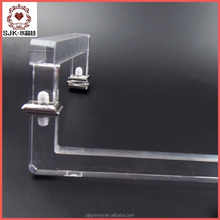 wholesale acrylic magnetic shower door pull and push handle
