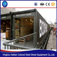 40 foot mobile bar, restaurant,container hotel,office,design shipping container homes for sale