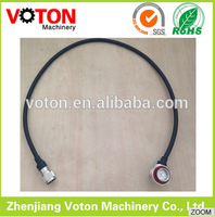 n male to din 7/16 right angle 1/2 superflexible cable connector