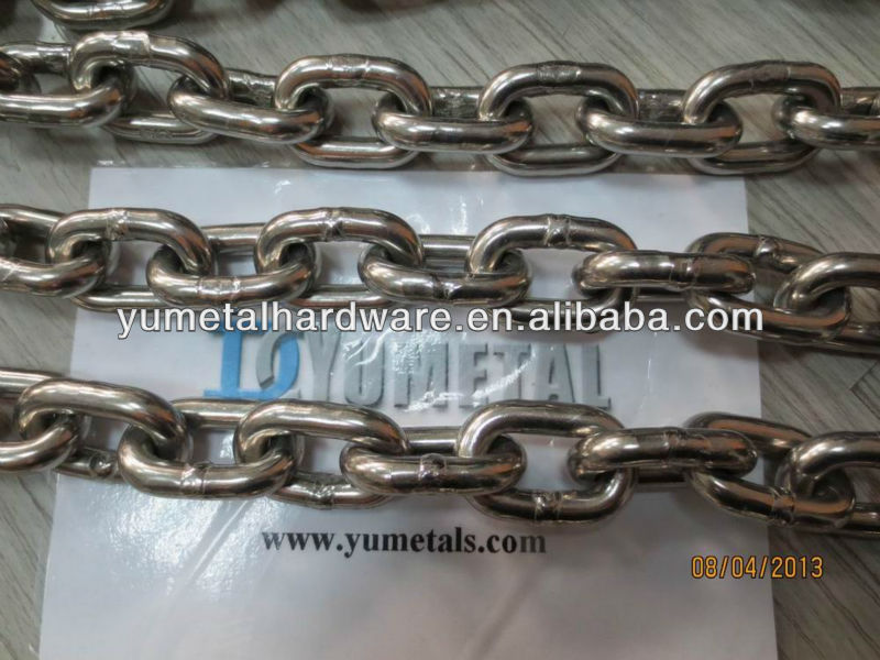 Stainless Steel 316 Chain Set 7mm