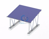Strong Structure Carport Solar PV Panel Mounting Systems