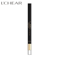 593088 LCHEAR 2 in 1 double-end coffee color Makeup Tools Long Lasting Waterproof Liquid Eyeliner Eyebrow Pencil