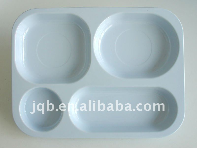 High Quality kids melamine serving tray