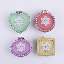 Yunde Heart Shape White Flower Girls Packaging Jewelry Box