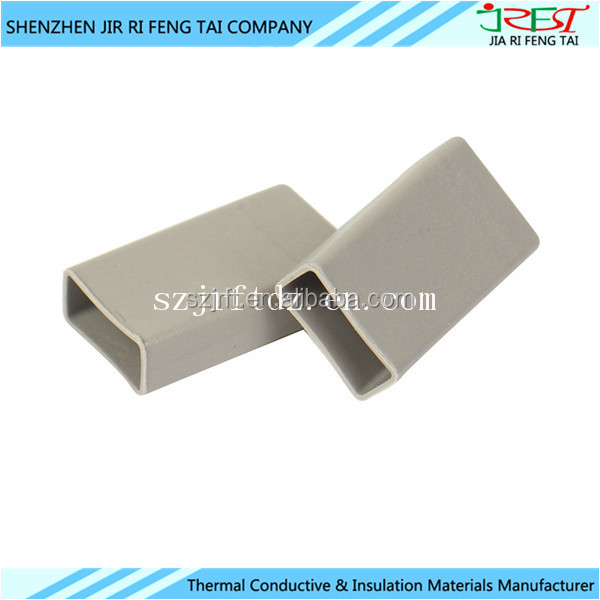OEM Manufacturer Heat Sink Insulation Thermal Conductive Silicone Rubber Sleeve Cap