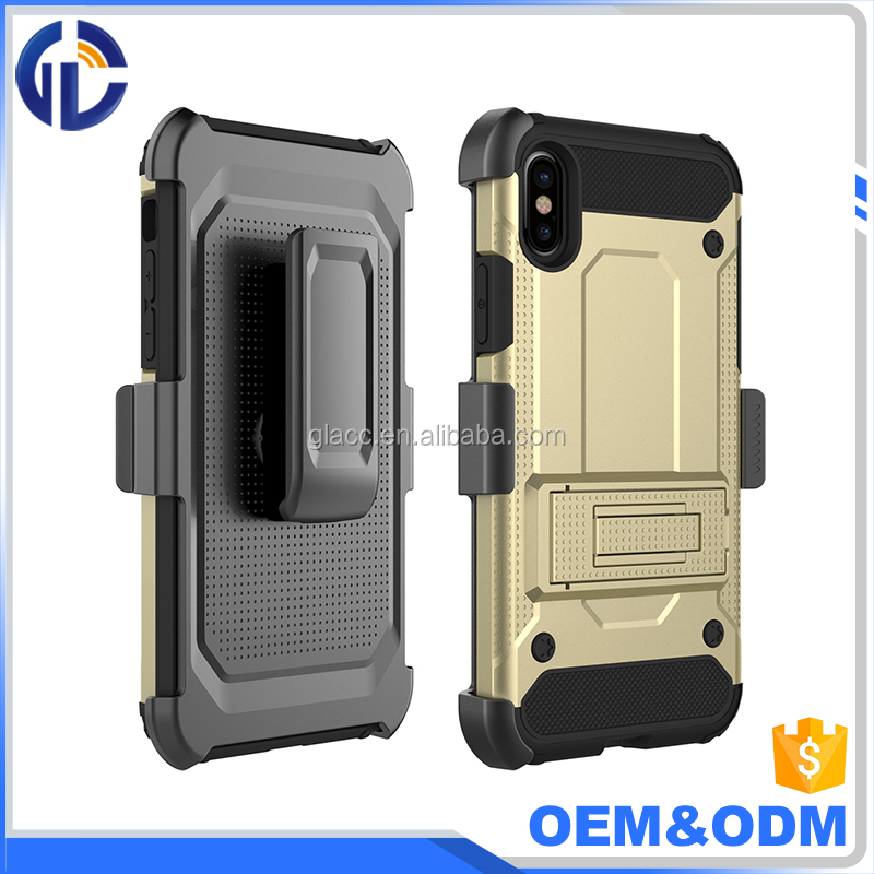 Best sellers in alibaba holster belt clip case for iphone 8,high quality combo armor for iphone 8 case,