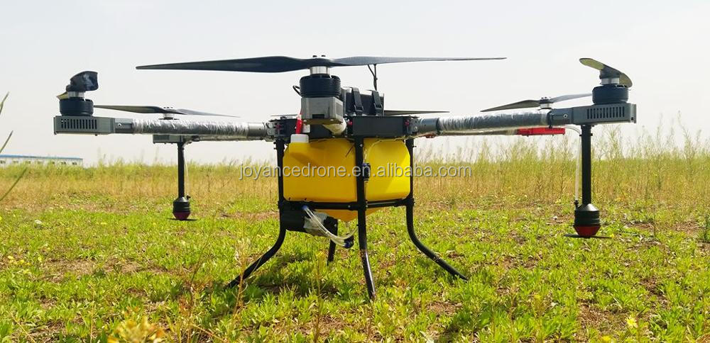 10-606 drone agriculture sprayer for spraying oil palm trees, banana trees and fruit trees
