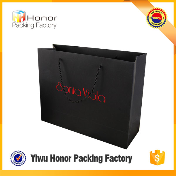 Famous Brand Garment Carry Paper Bag Making Machine With Handle