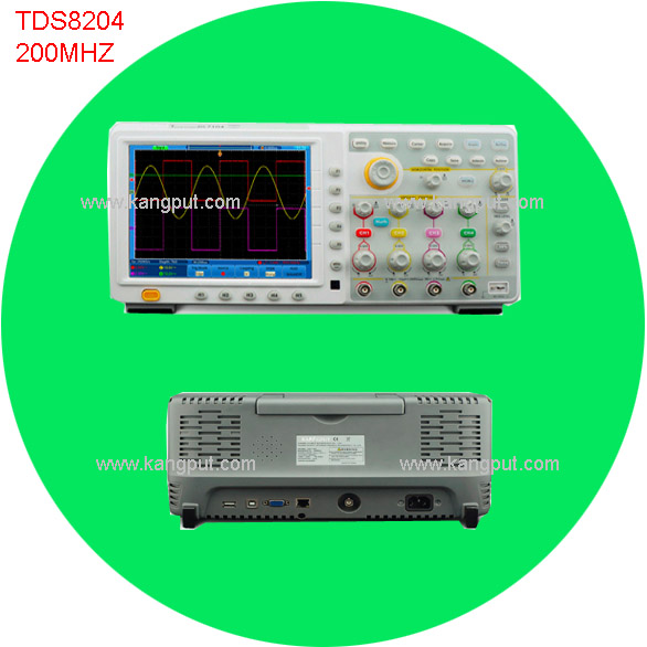 Optional handheld digital oscilloscope record length 2GS/S sample rates 4 channel owon oscilloscope prices