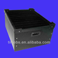 Anti-static electronic components storage box
