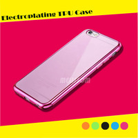 New coming electroplating TPU Phone Case For iphone 6/ 6s/ 6 plus/ 6s plus/ 5s