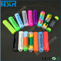 candy color silicone material 18650 battery case/cover/skin in stock