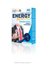 ENERGY BOOST Health supplement nutrition food made in Germany