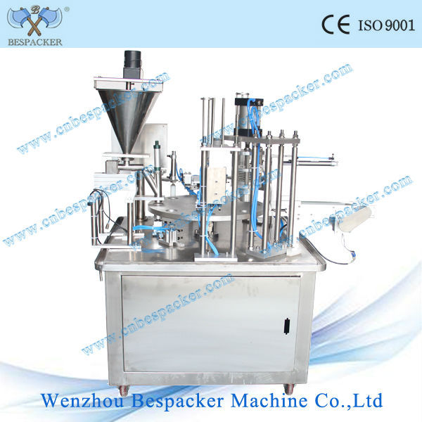 XBG-900 series rotary type automatic ice cream paper cup filling machine