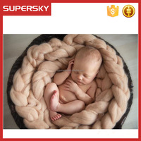 B - b455 Popular Series Knitted Throw Blanket Cover For Baby / Photography Props Newborn Blanket