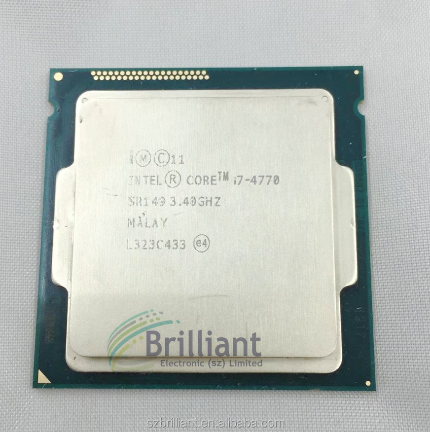 for Intel Core Processor I7 4770 I7-4770 CPU LGA 1150 Quad-Core cpu