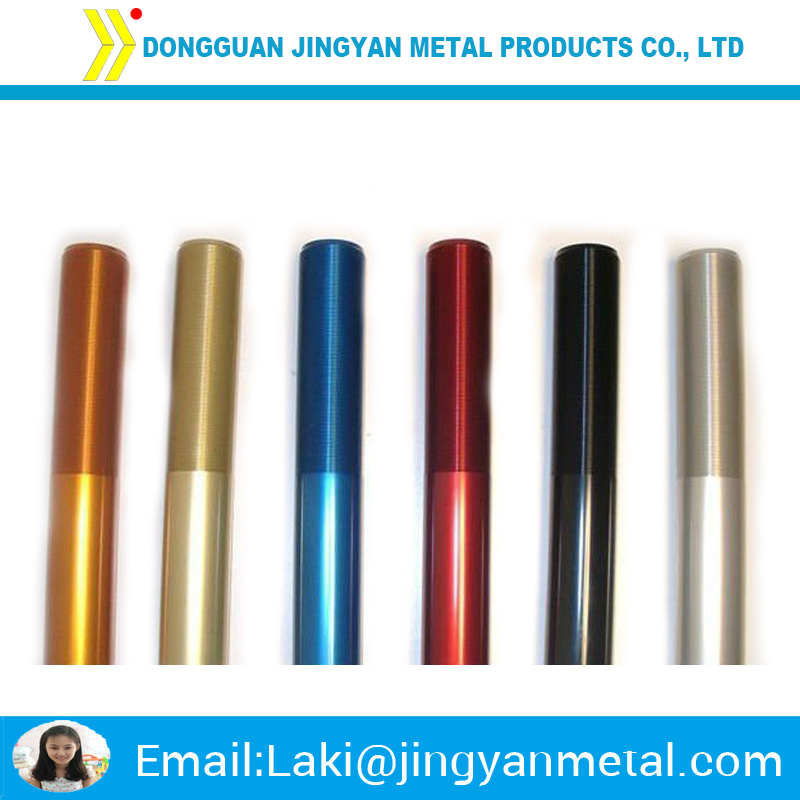 high precision machining aluminium anode round bar color rod made in china
