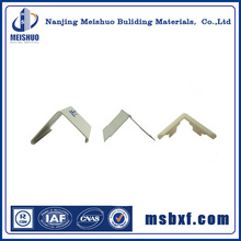 Wall protection rubber corner guards with inner aluminum profile