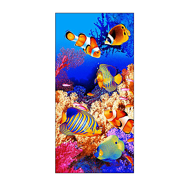 Digital Printing Beach Towel With Elastic,Microfibre bath and Beach Towel