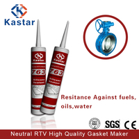 neutral RTV oils & water resistance silicone sealant for automotive