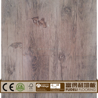 Fashion beauty colorfulReclaimed natural oak plank laminate flooring