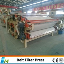 Copper Ore Sludge Dewatering Belt Filter Press
