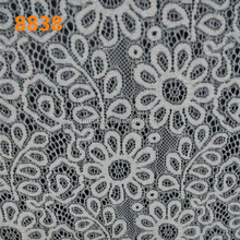 white colorluxury Swiss bridal voile lace fabric TH-8838